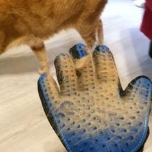 1 Stueck Hunde Massagehandschuhe