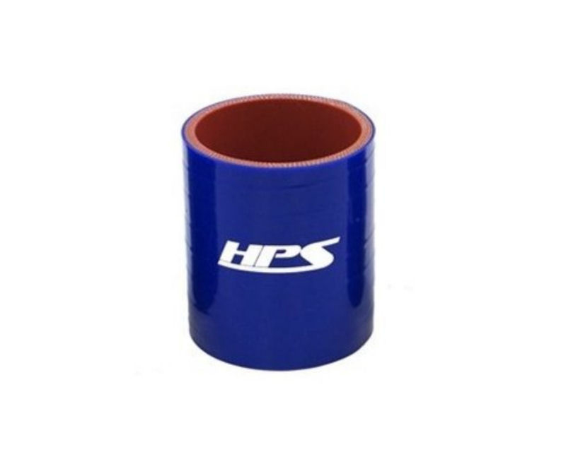 HPS High Temp 2.50inch 63mm Offset Silicone Hose Coupler Blue