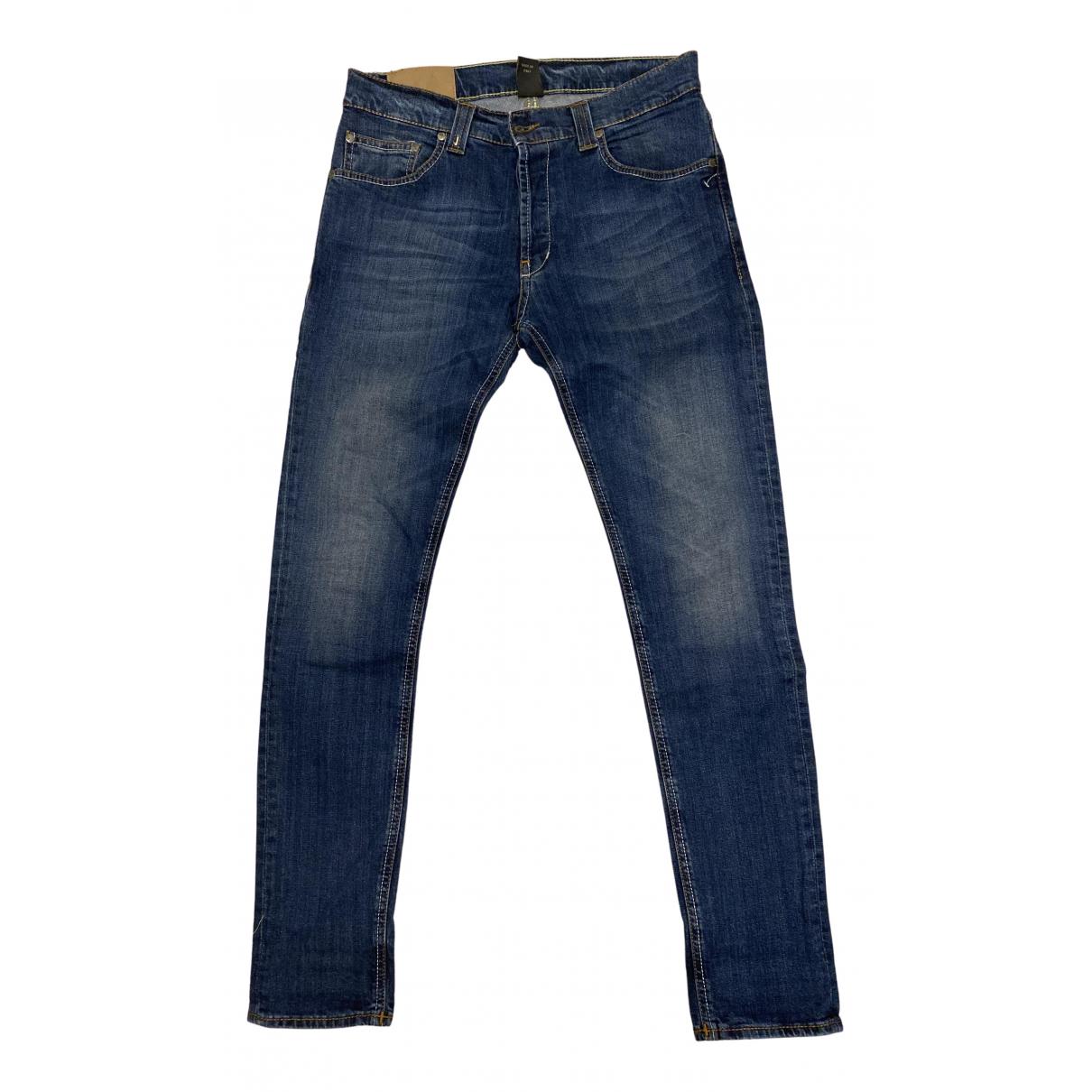 Dondup - Jean   pour homme en coton - bleu