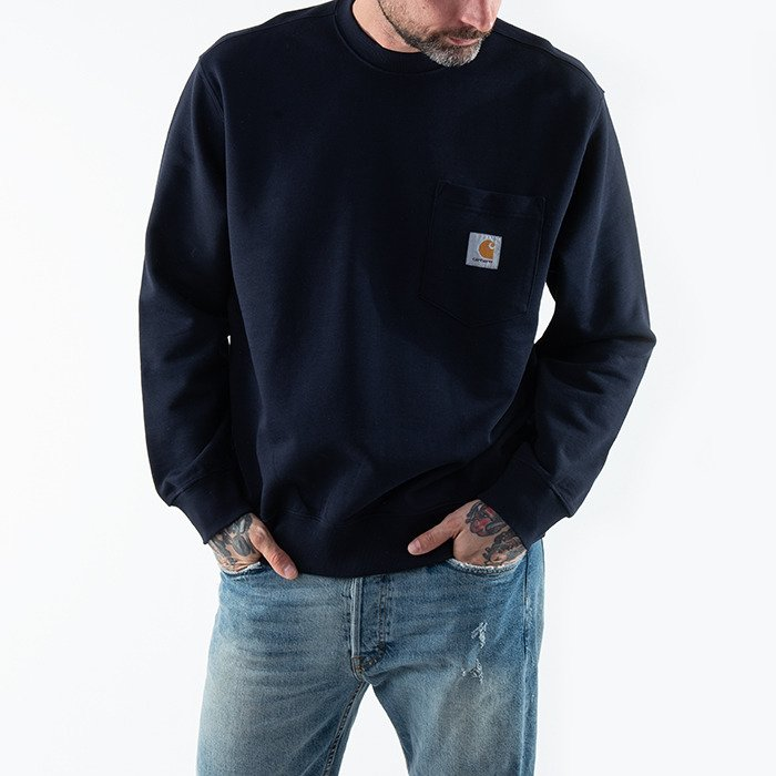 Carhartt WIP Pocket Sweatshirt I027681 DARK NAVY