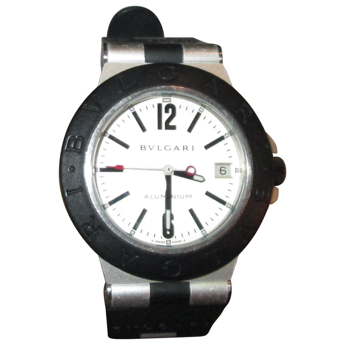 Bvlgari Diagono Black Steel watch for Women \N