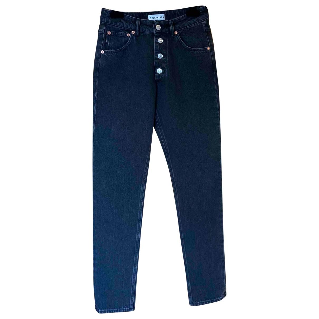 Balenciaga \N Grey Denim - Jeans Jeans for Women 26 US