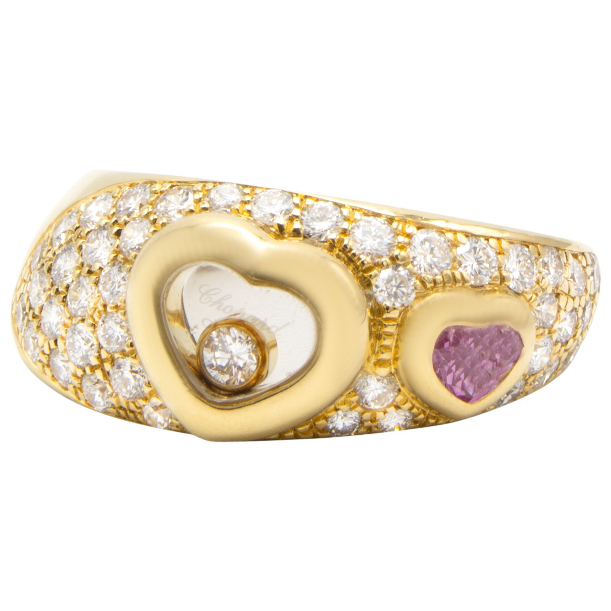 Chopard Happy Diamonds Ring in  Gold Gelbgold
