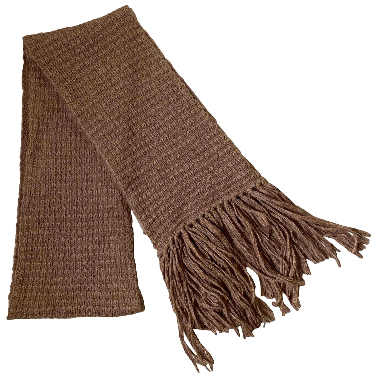 Stella Mccartney - Cheches.Echarpes   pour homme en laine - marron