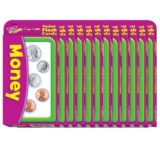 Trend Enterprises® Money Flash Cards, 12 Packs   Michaels®