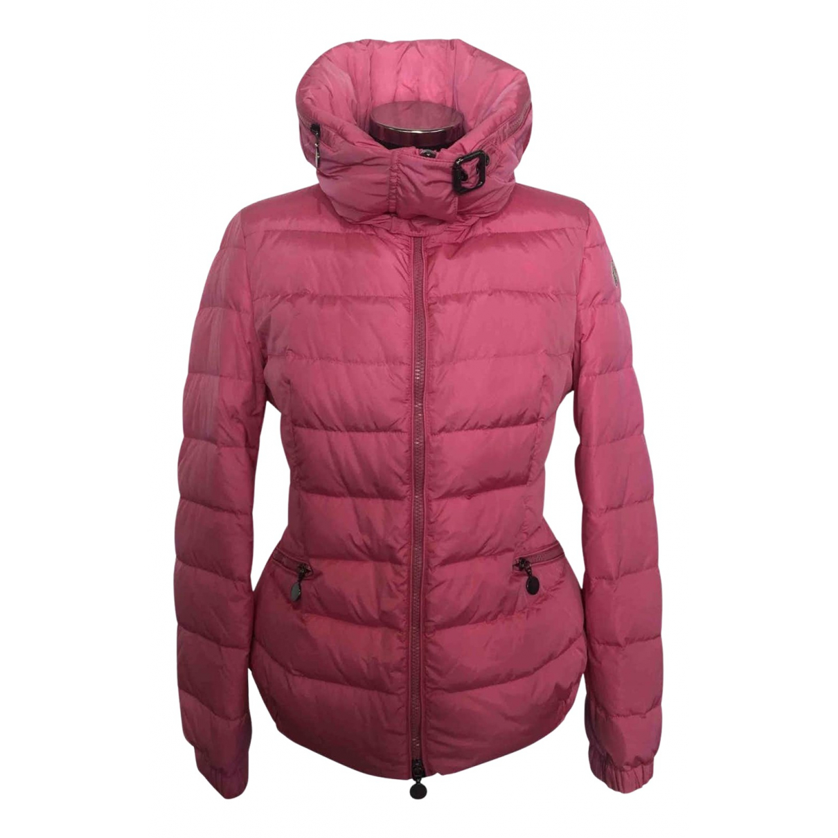 Moncler \N Kleid in  Rosa Synthetik