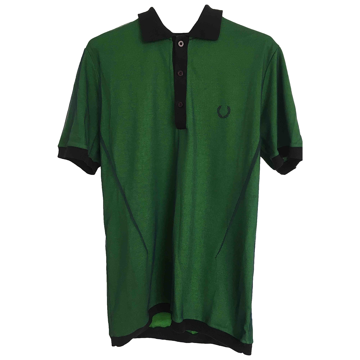 Raf Simons \N Poloshirts in  Gruen Baumwolle