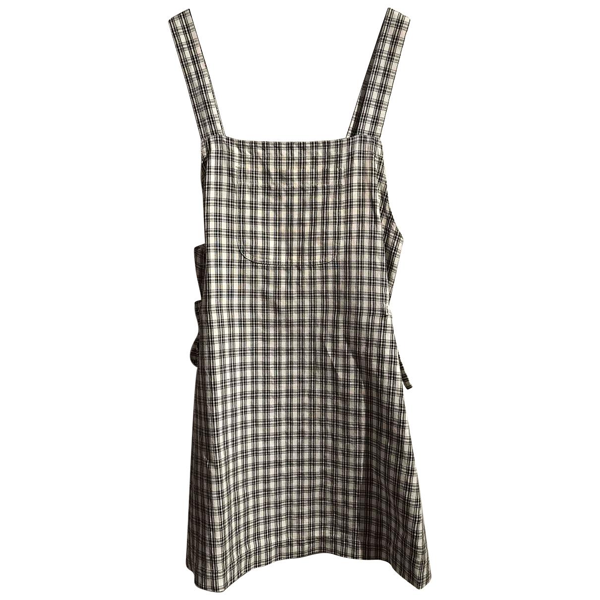 Simonetta \N White Linen dress for Kids 12 years - XS FR