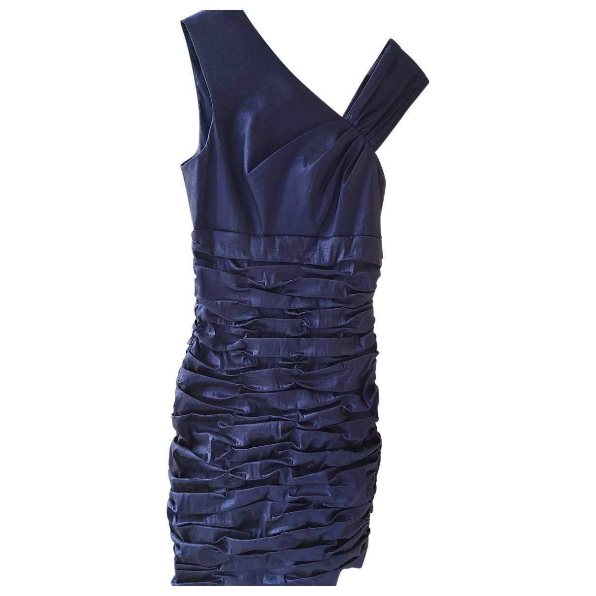 Calvin Klein - Robe   pour femme - bleu