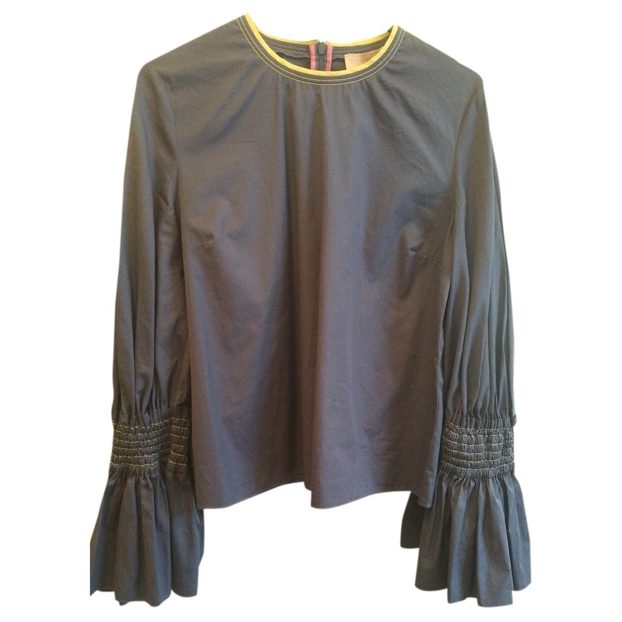Roksanda N Blue Cotton  top for Women 14 UK