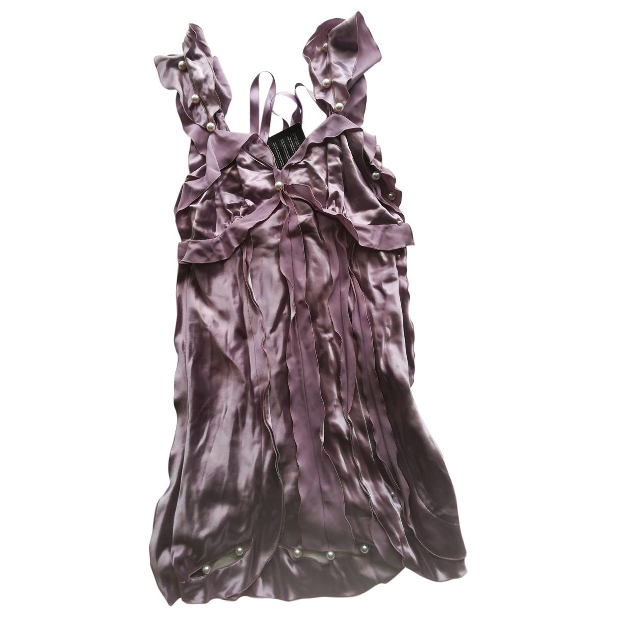 Marc Jacobs \N Kleid in  Lila Viskose
