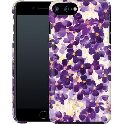 Apple iPhone 7 Plus Smartphone Huelle - Violet Bloom von Amy Sia