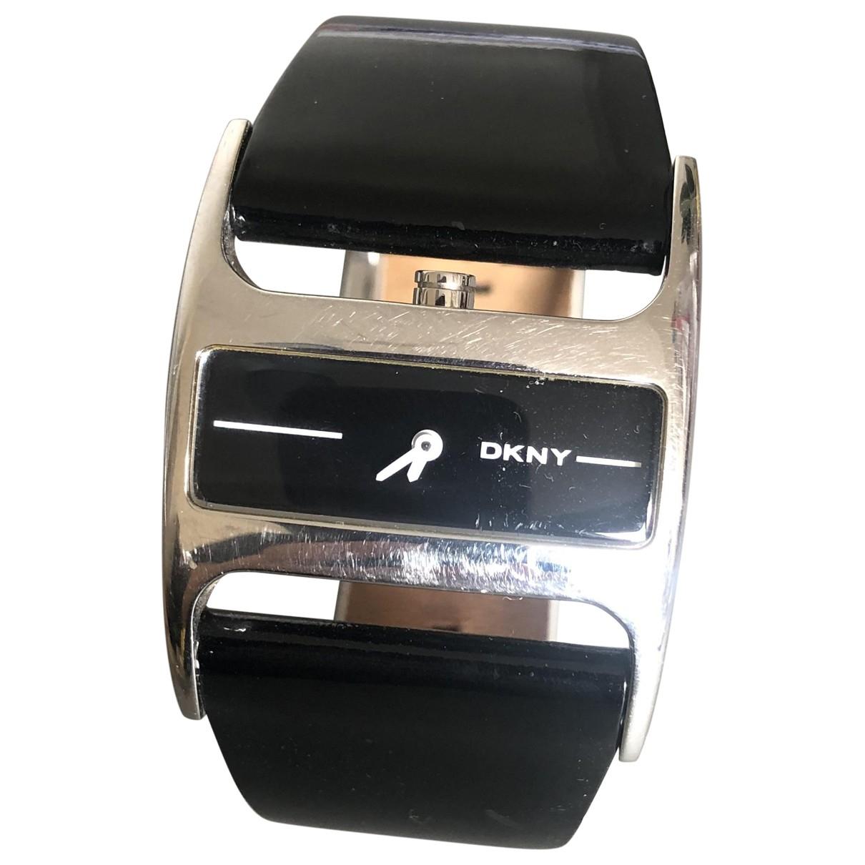 Dkny \N Black Steel watch for Women \N