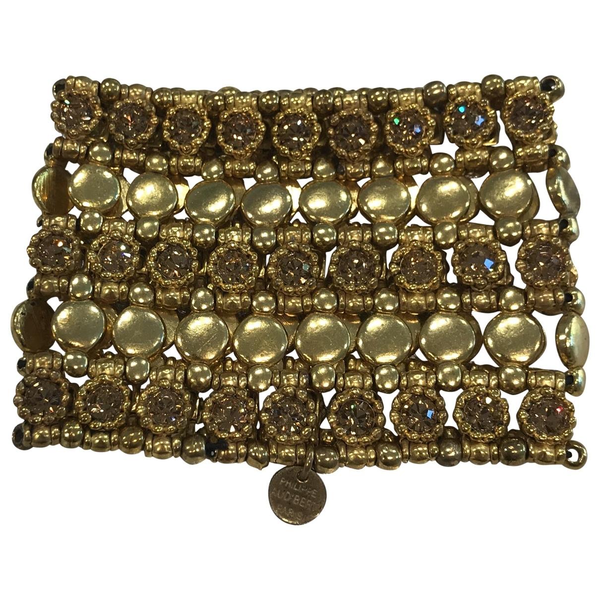 Philippe Audibert - Bracelet   pour femme en metal - dore