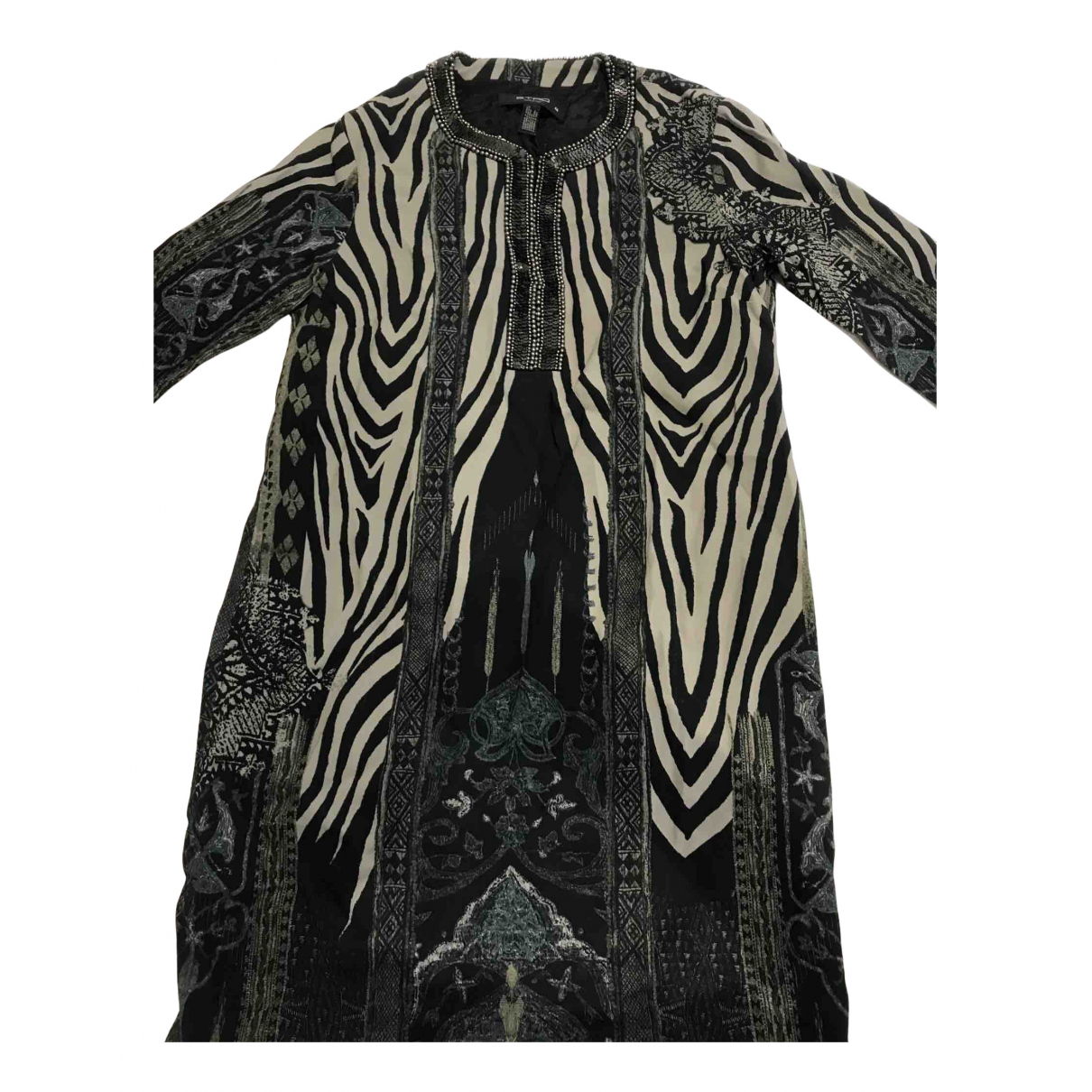 Etro \N Top in  Metallic Viskose