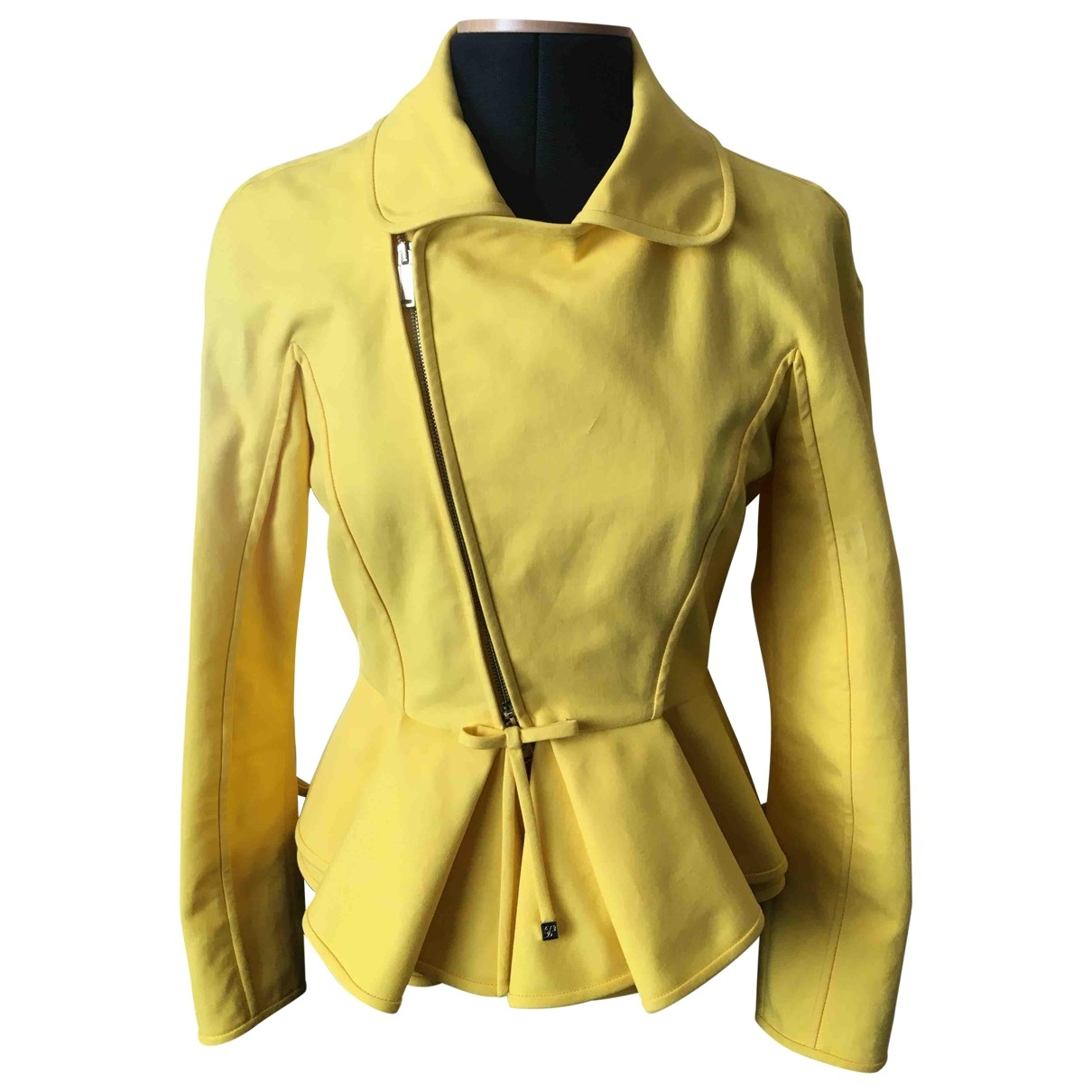 Dsquared2 - Veste   pour femme en coton - jaune