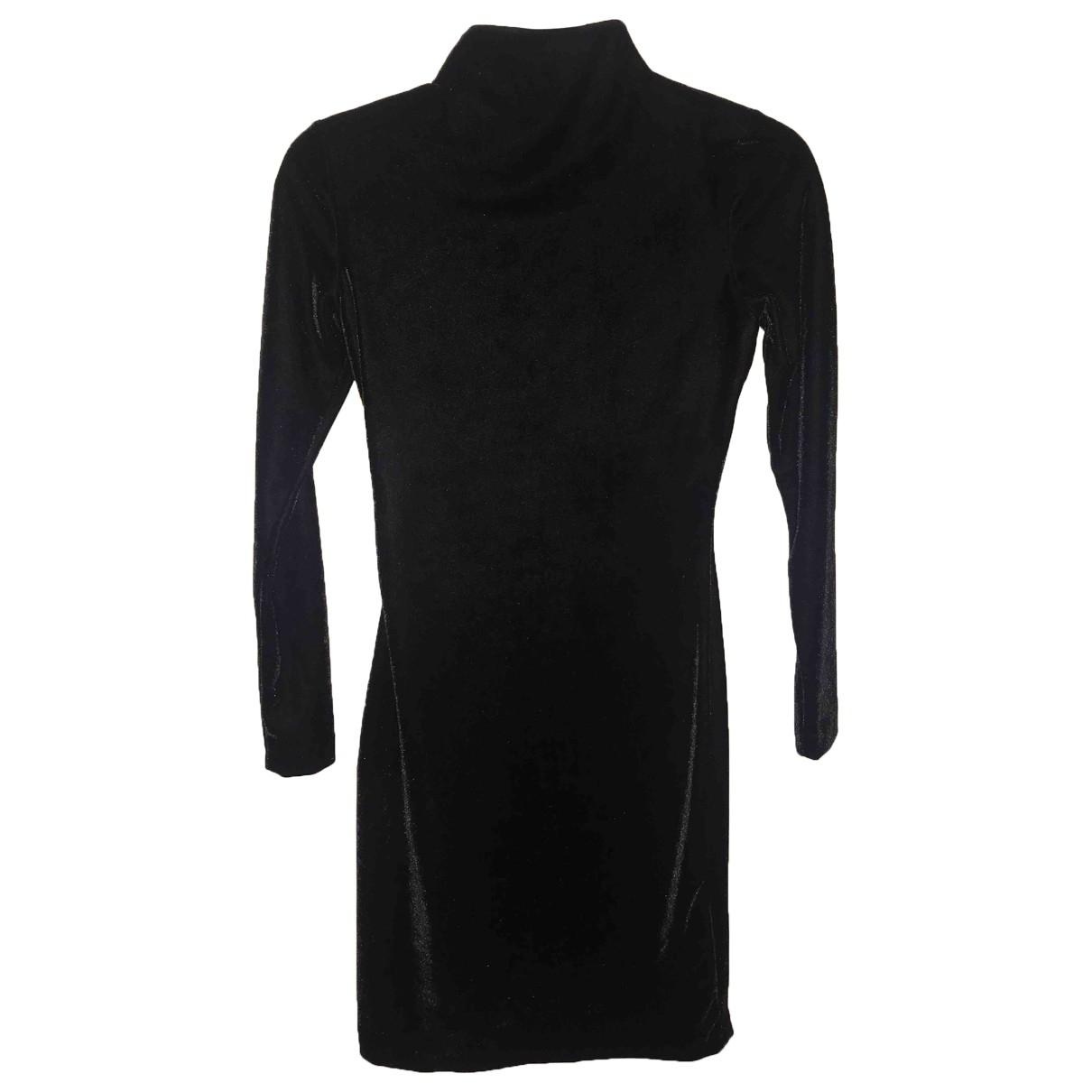 Reiss - Robe   pour femme en velours - noir