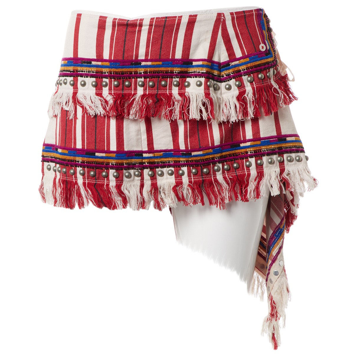 Isabel Marant - Jupe   pour femme en coton - multicolore