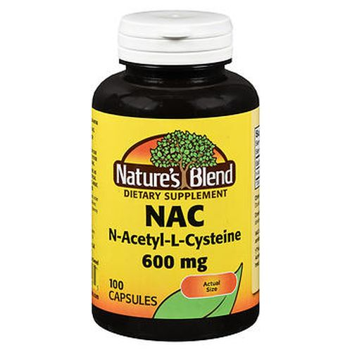 Natures Blend Nac Capsules 100 Tabs by Natures Blend