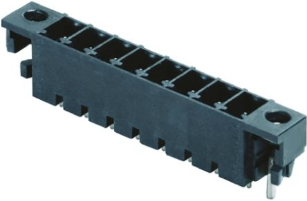 Weidmüller , OMNIMATE SC, 3 Way, 1 Row, Straight PCB Header (5)