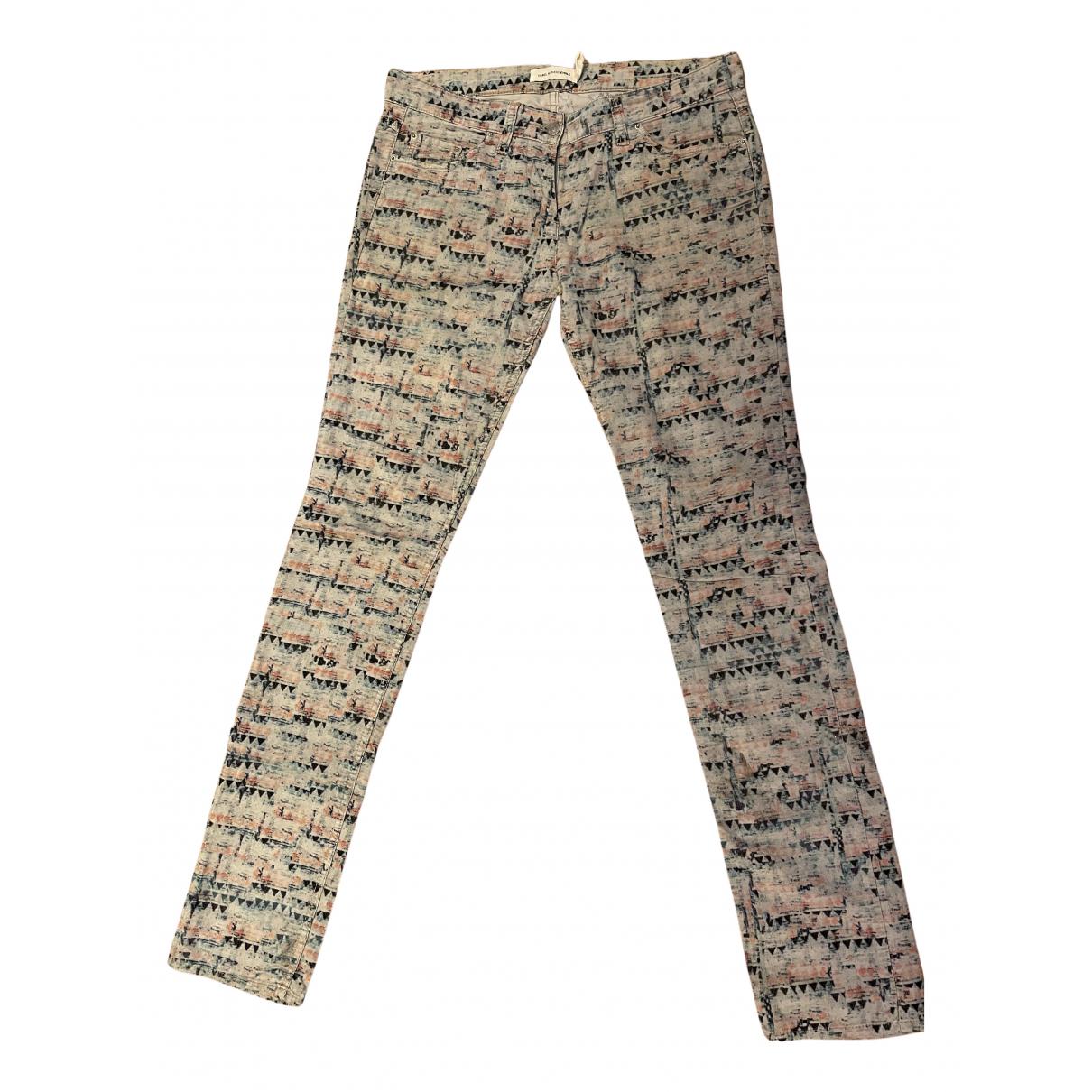 Isabel Marant Etoile N Multicolour Cotton Trousers for Women 42 FR