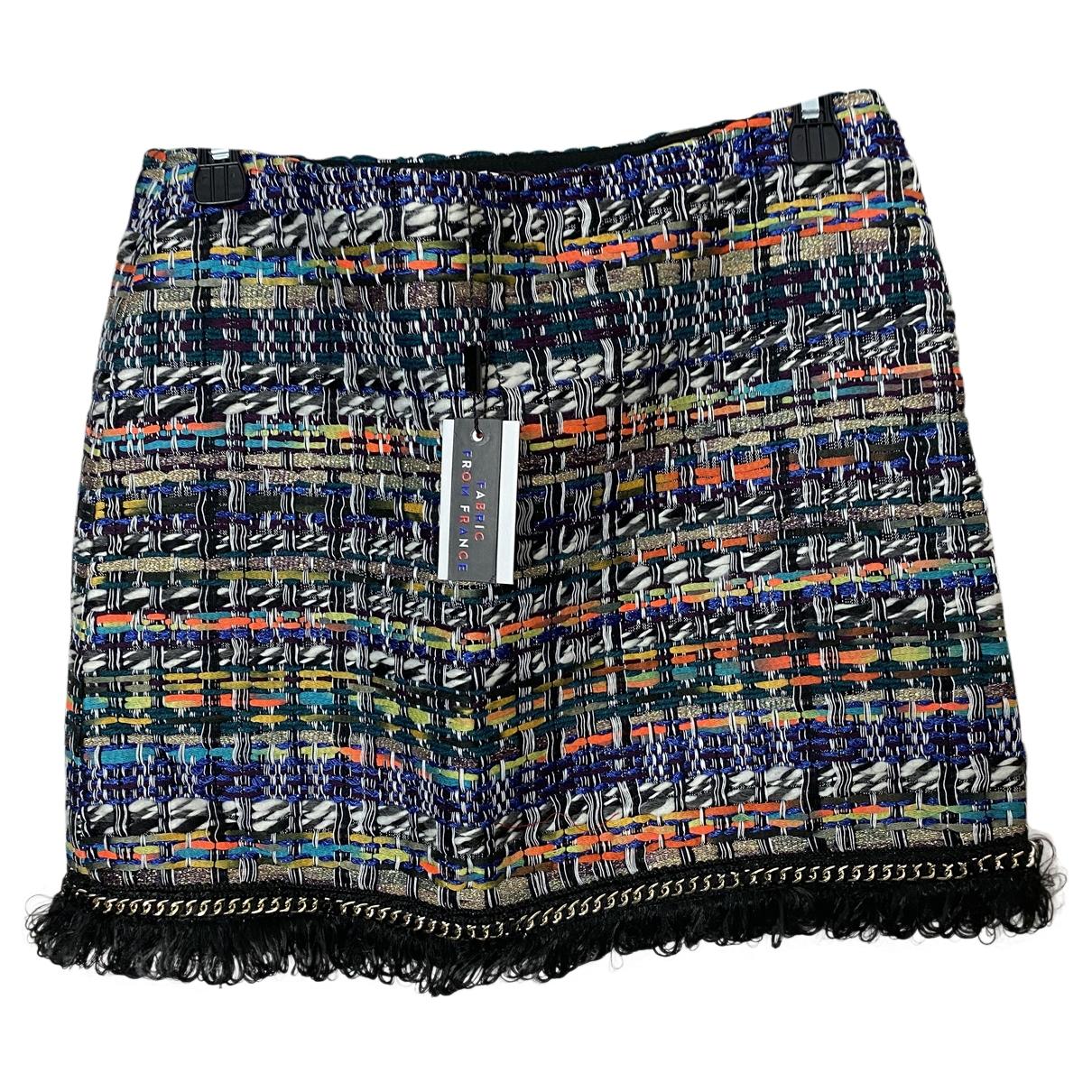 Milly \N Multicolour Tweed skirt for Women 2 US
