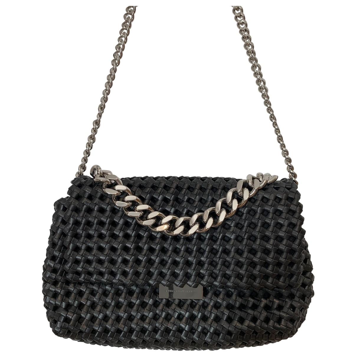Stella Mccartney \N Handtasche in  Schwarz Leinen