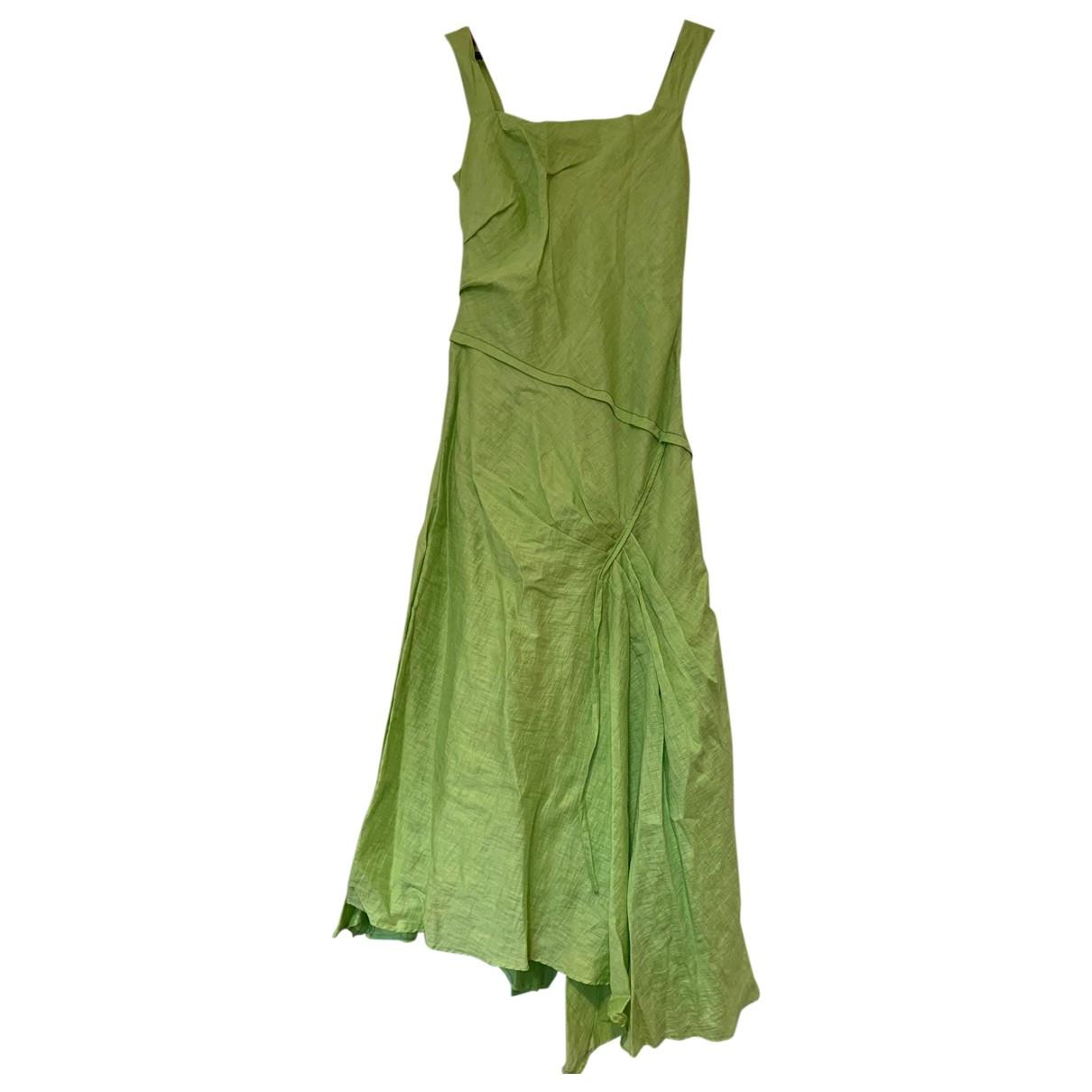 Vestido midi de Lino Zapa