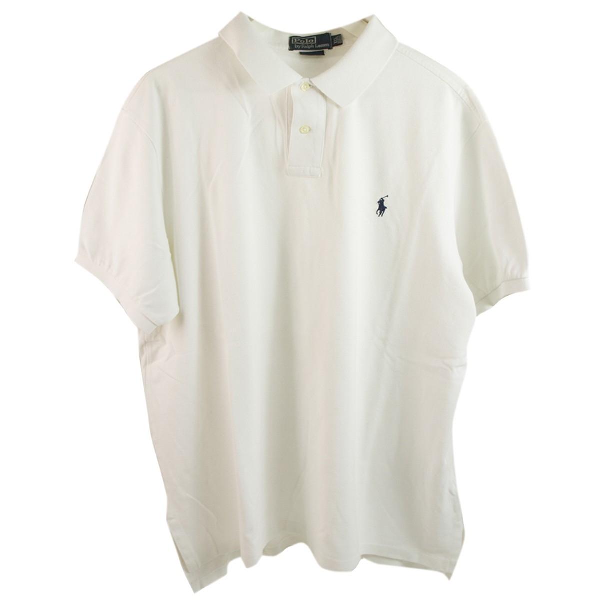 Polo Ralph Lauren - Polos Polo classique manches courtes pour homme en coton - blanc