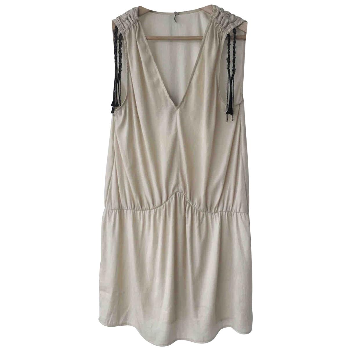Iro \N Kleid in  Beige Polyester