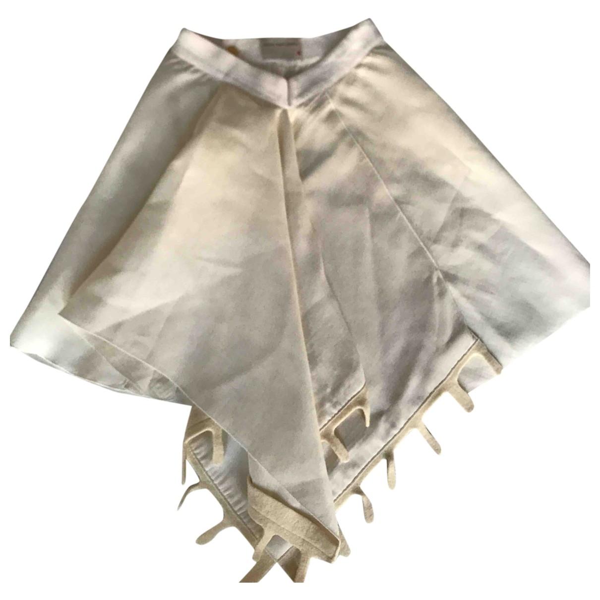 Maison Rabih Kayrouz - Jupe   pour femme en laine - ecru