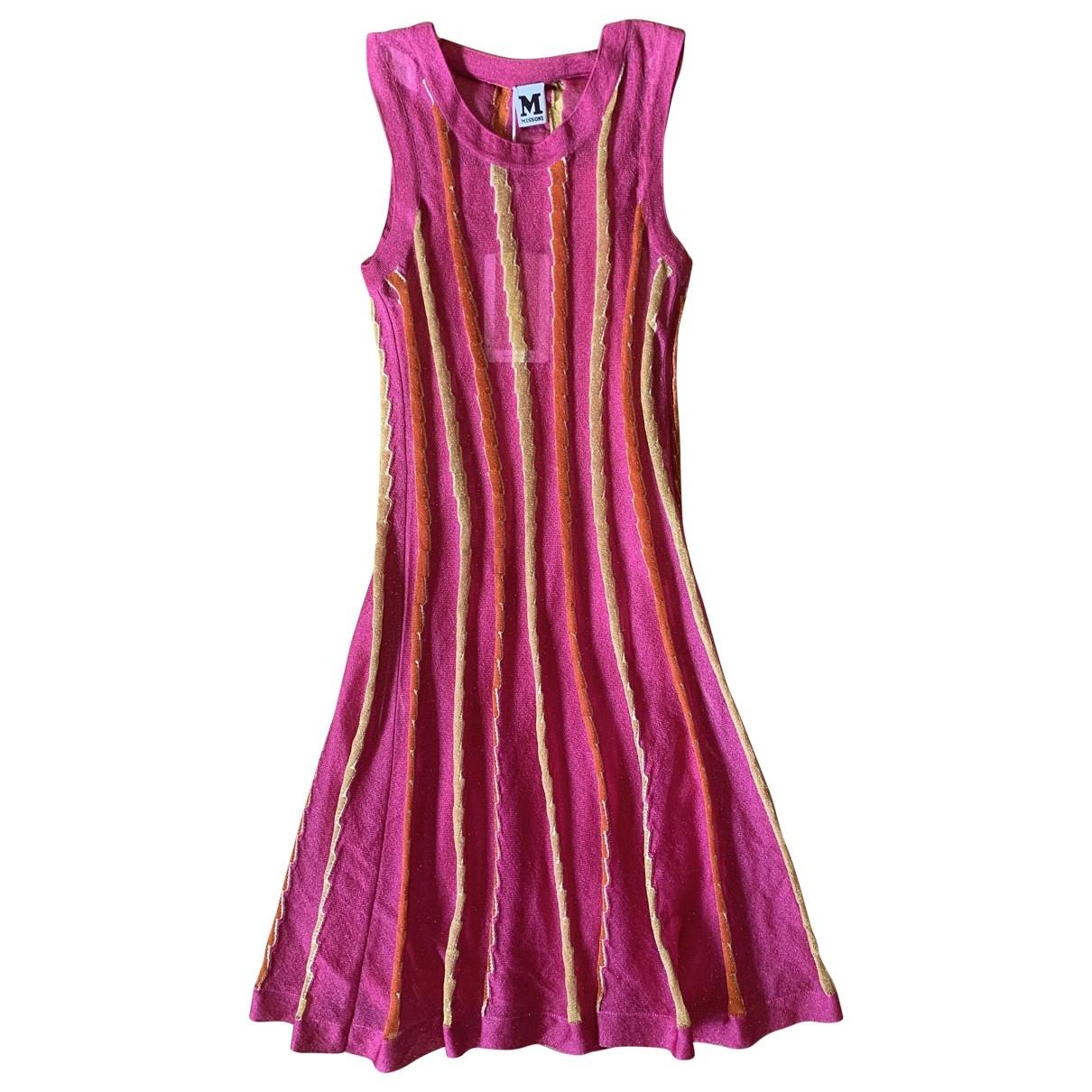 M Missoni \N Multicolour Cotton - elasthane dress for Women 40 IT