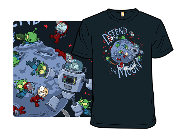 Moon Battle T Shirt