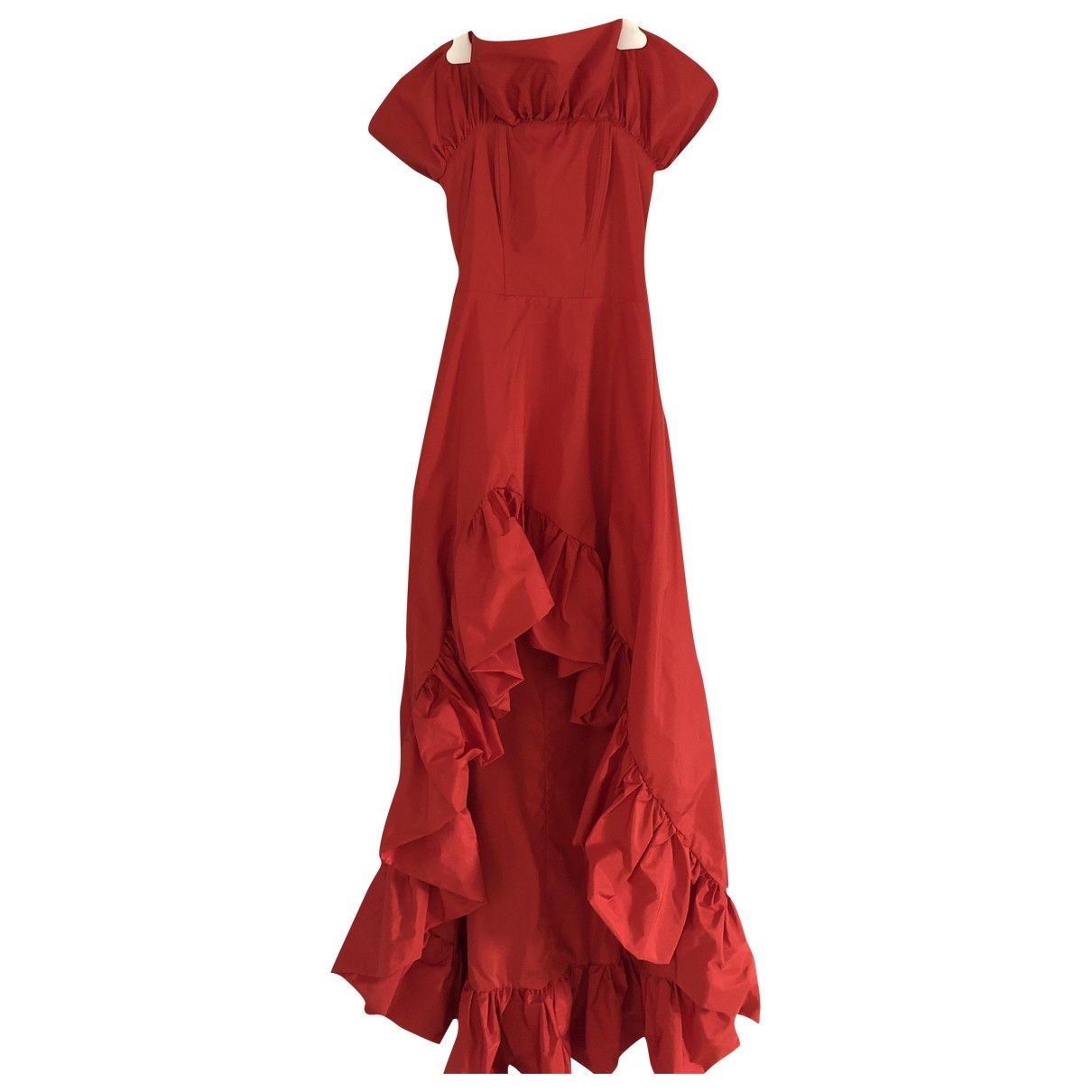 Pinko \N Kleid in  Rot Polyester