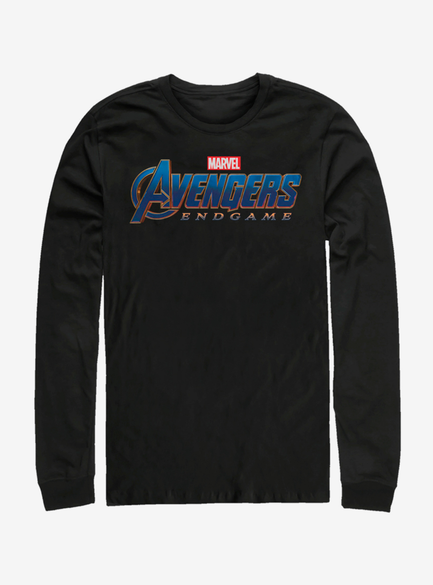 Marvel Avengers: Endgame Logo Long-Sleeve T-Shirt