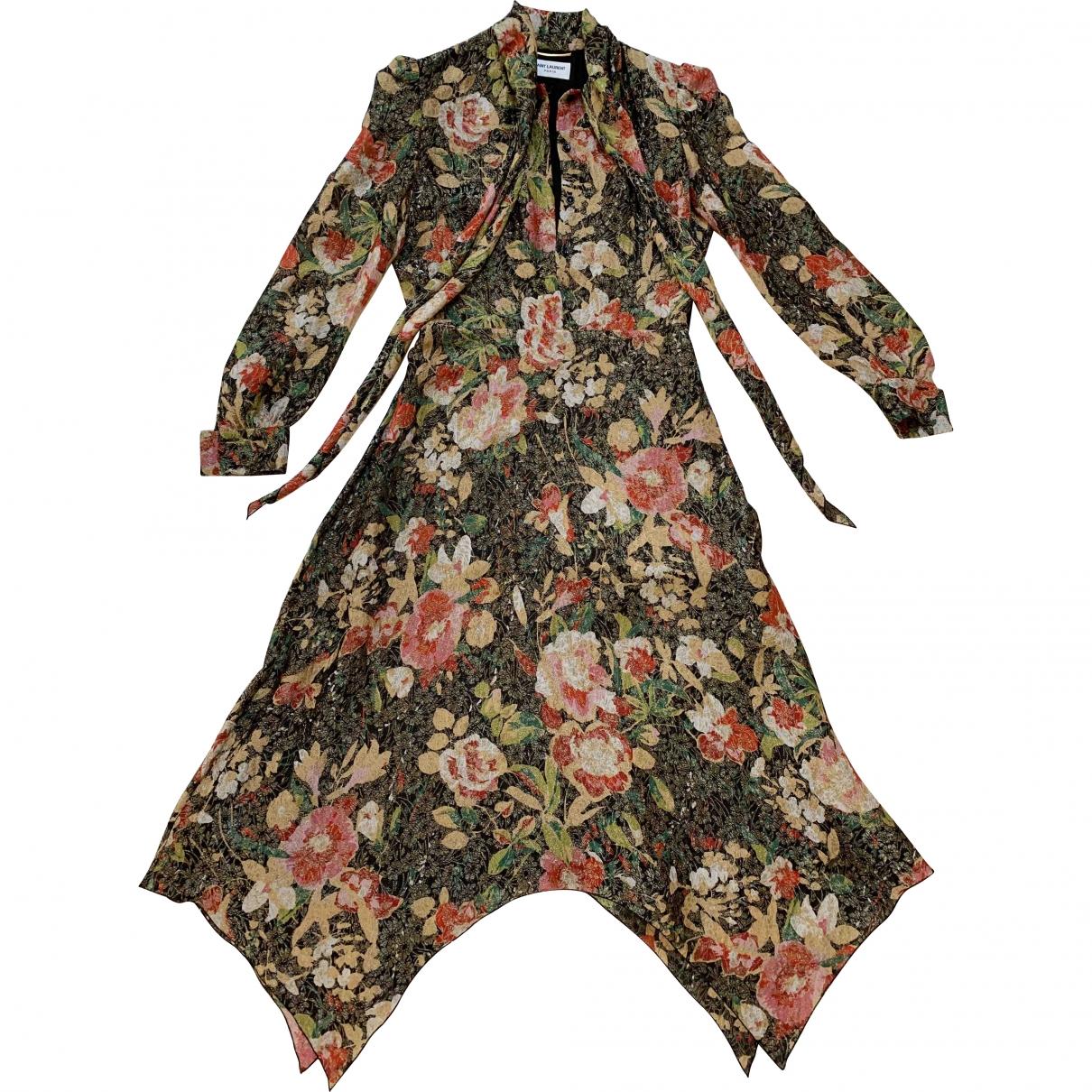 Saint Laurent \N Multicolour dress for Women 40 FR