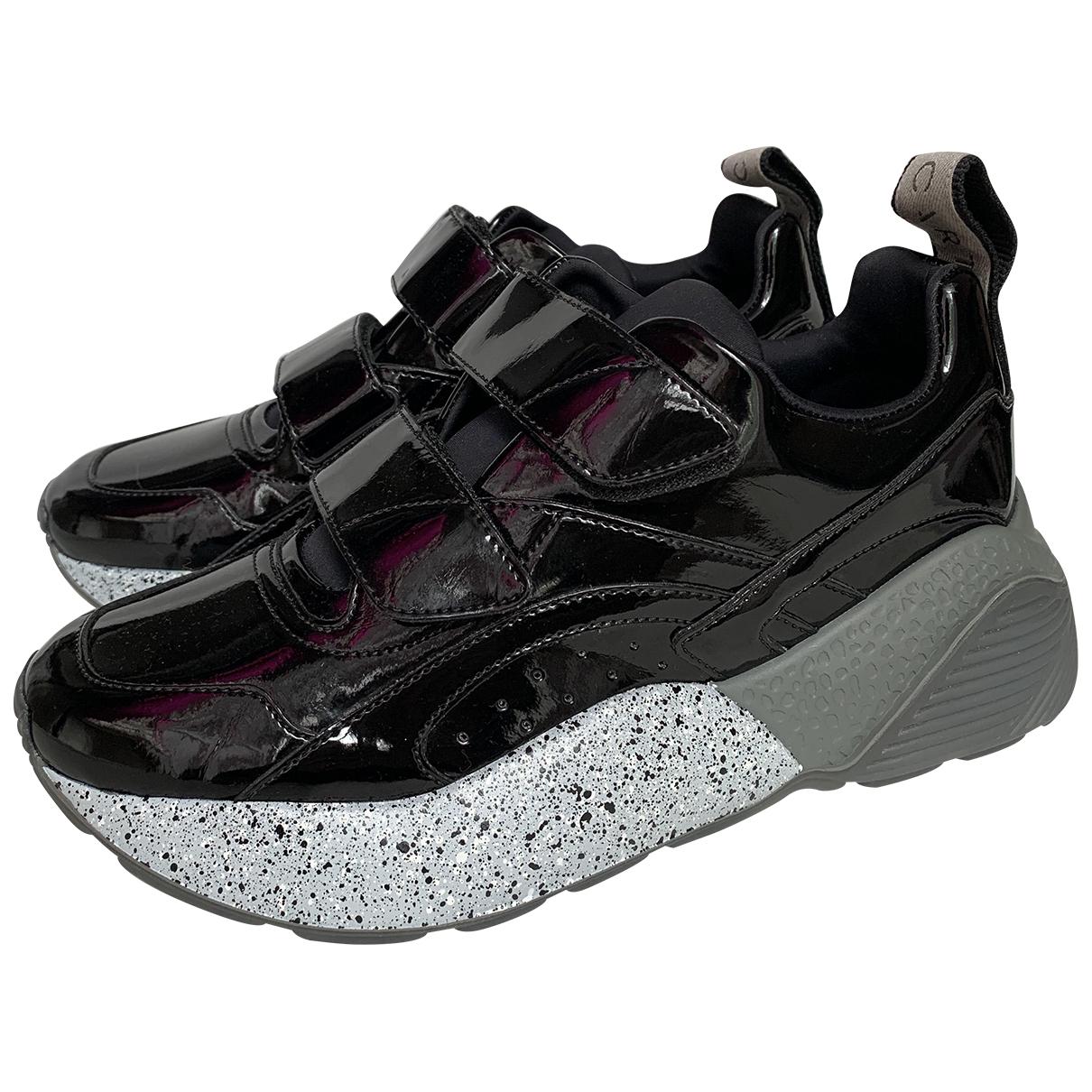 Stella Mccartney Eclypse Sneakers in  Schwarz Polyester