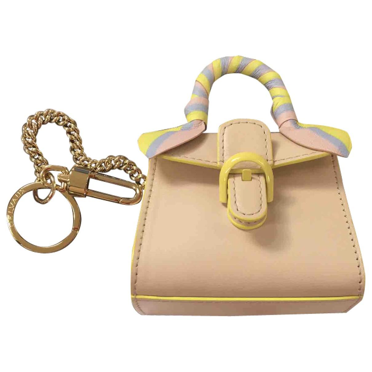 Delvaux - Petite maroquinerie Signature clutch pour femme en cuir