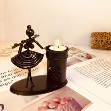 Character Sculpture Candle Holder