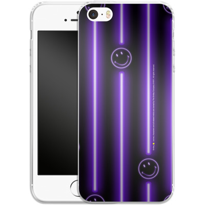 Apple iPhone SE Silikon Handyhuelle - Electro Nights von Smiley®