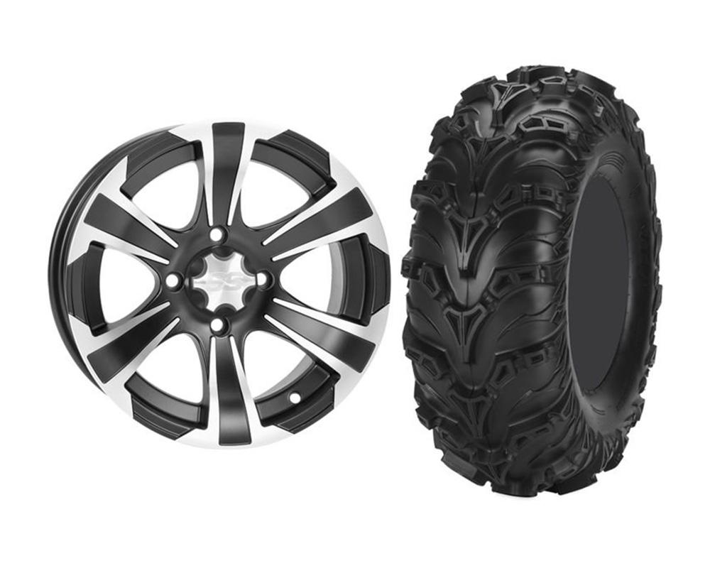 ITP KIT W373510/T374696 RIGHT SS312 14x6 4+2 | 4x110 w/ITP KIT W373510/T374696 RIGHT Mud Lite II 28x9-14 Wheel & Tire Package