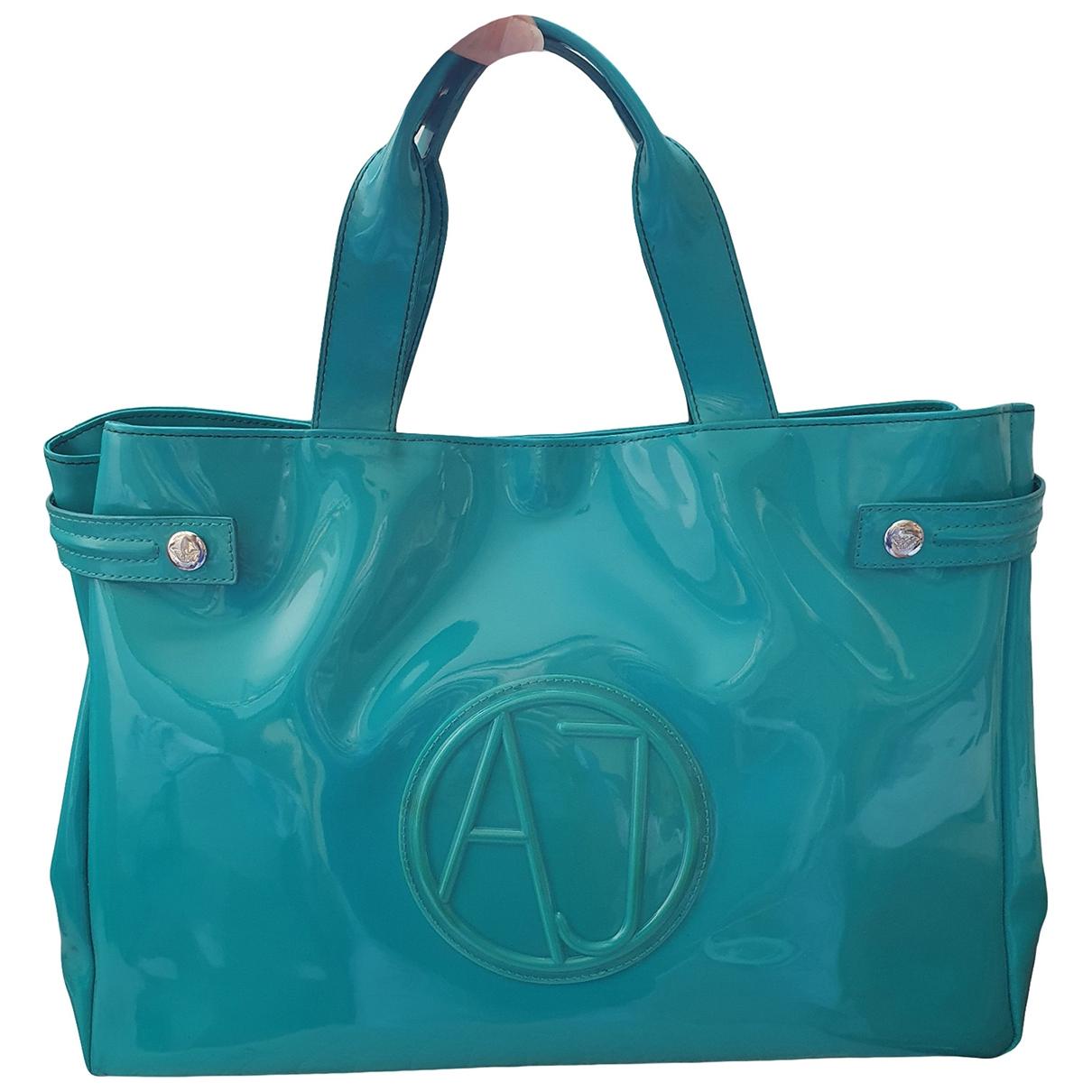Armani Jeans \N Handtasche in  Gruen Synthetik
