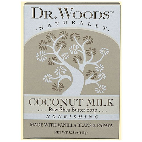 Castile Bar Soap Coconut 5.25 oz by Dr.Woods Products