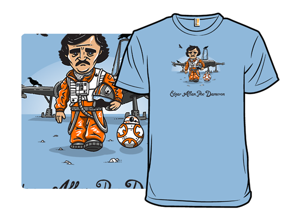 Edgar Allan Poe Dameron T Shirt