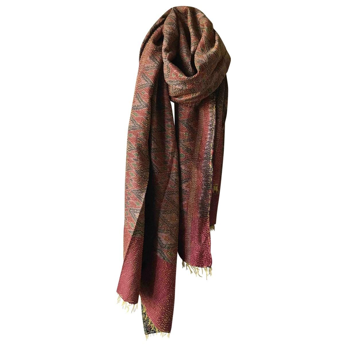Fragonard - Foulard   pour femme en soie - multicolore