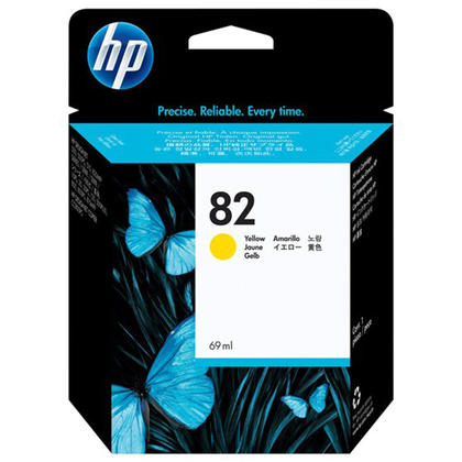 HP 82 C4913A Original Yellow Ink Cartridge High Yield 69ml