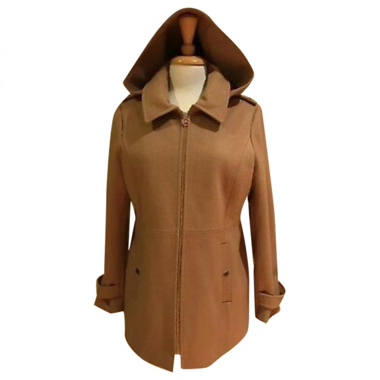 Michael Kors - Manteau   pour femme en laine - jaune