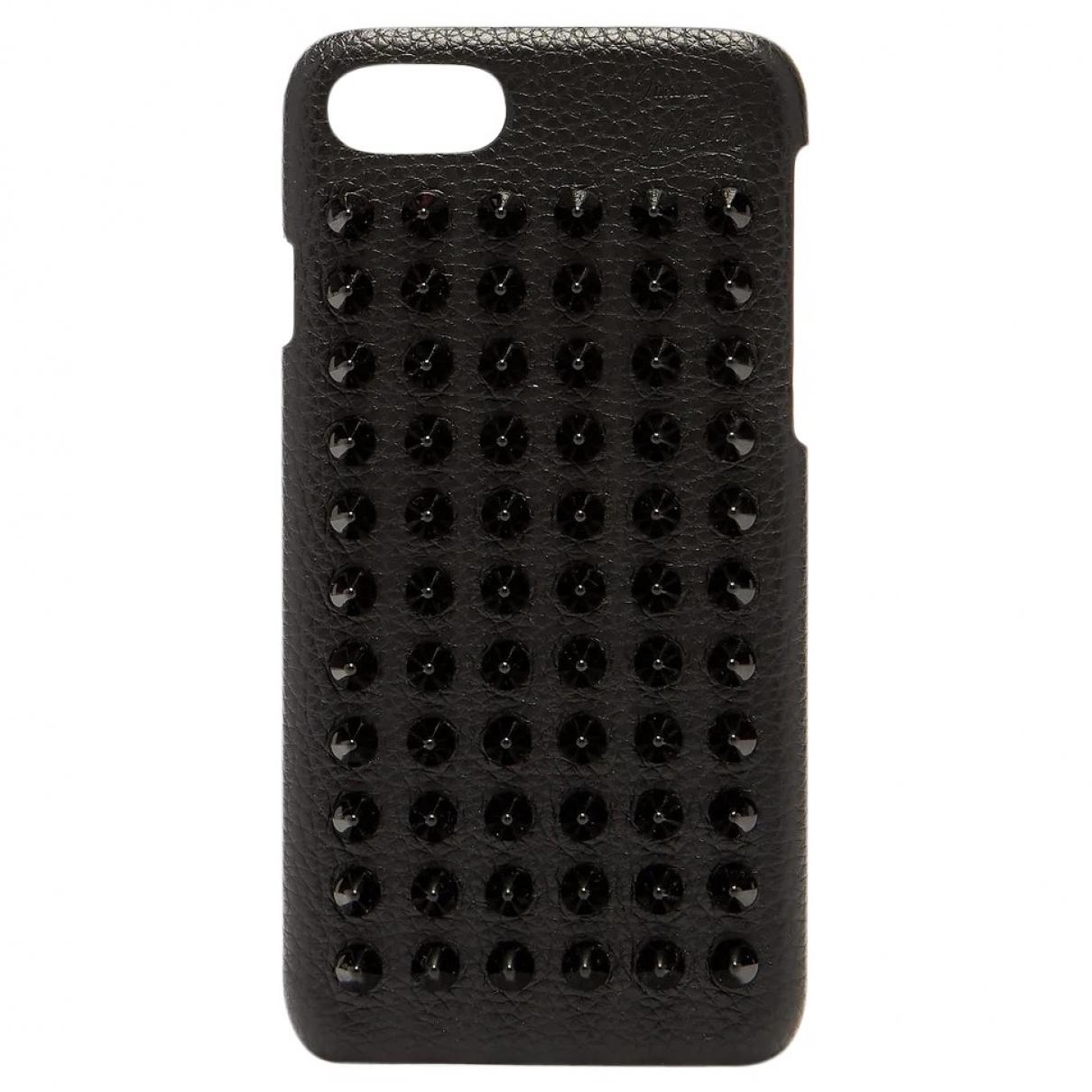 Christian Louboutin - Accessoires   pour lifestyle en cuir - noir