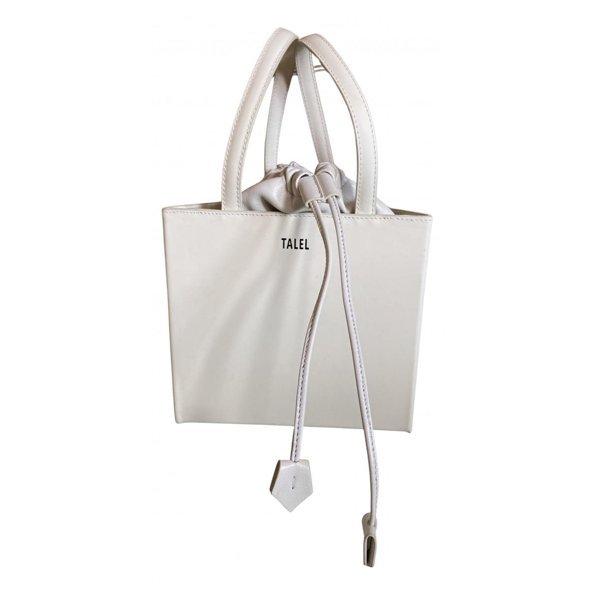 Talel N White Leather handbag for Women N