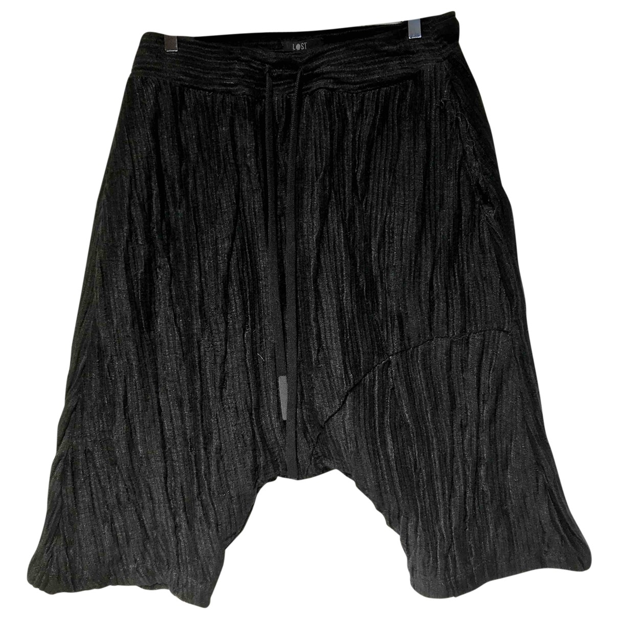 Lost & Found Ria Dunn \N Black Cotton Shorts for Men L International